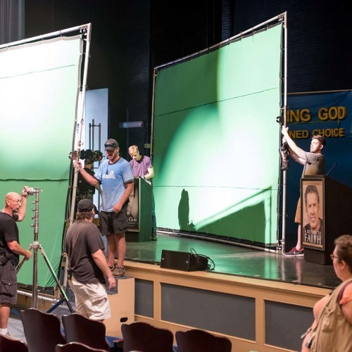 Let There Be Light - BTS green screens