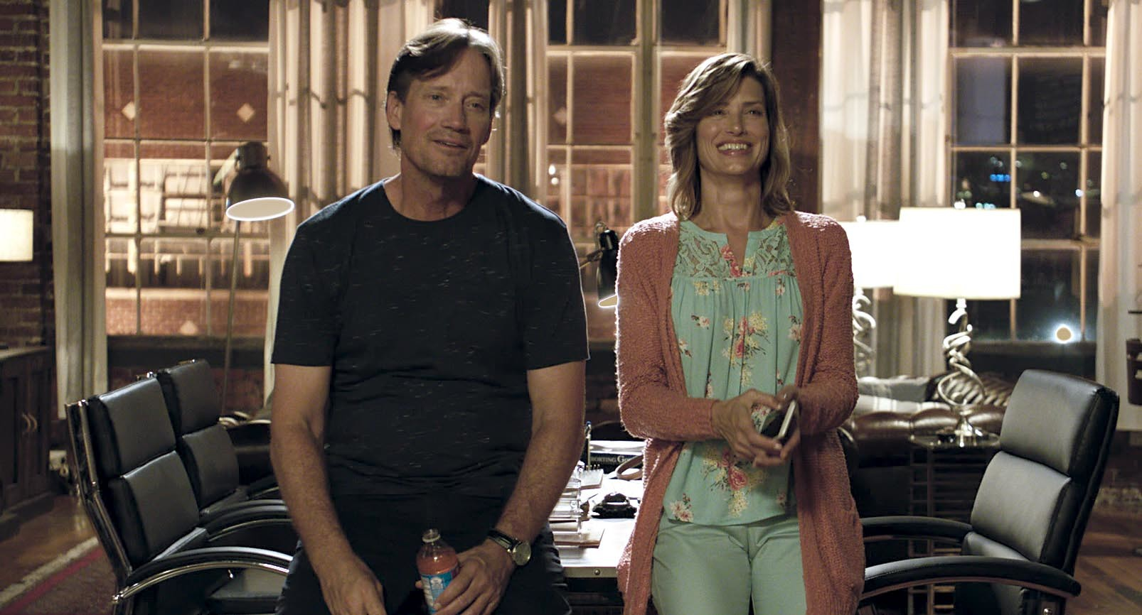Let There Be Light - Kevin and Sam Sorbo laughing